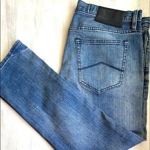 A X Armani Exchange Straight Jambe Droite Jeans